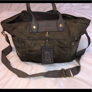 Marc Jacobs Khaki Green Diaper Bag